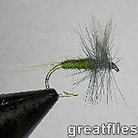 Blue wing olive fly fish lure