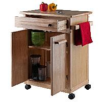 Rolling benchtop Kitchen Cart