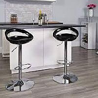Swivel adjustable height bar stool