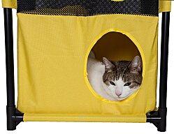 life-sized cat puzzle house