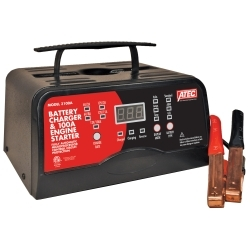 AtecPortable Battery Charger & 100 Amp Engine Starter, 12v 15 Amp