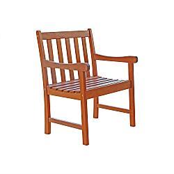 Wood Garden Arm Chair