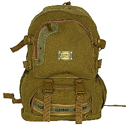 Multipurpose Canvas Outdoor Backpack