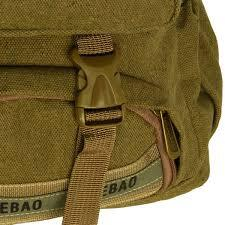 Canvas Outdoor Backpack / Dayback