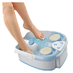 Conair Hydrotherapy Foot Spa With Lights, Bubbles, And Heat