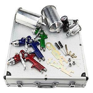 3 HLVP Spray gun kit
