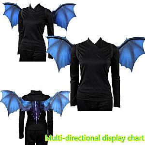 Halloween bat wings