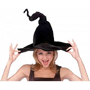 Wired Bendable Witch Hat Costume Accessory